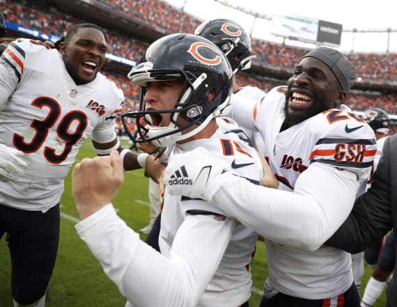 Bears K Eddy Pineiro hits game-winner over Broncos
