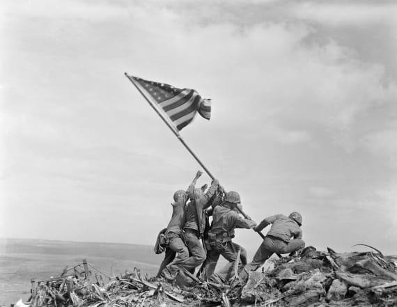 Marines correct identity of Iwo Jima flag raiser