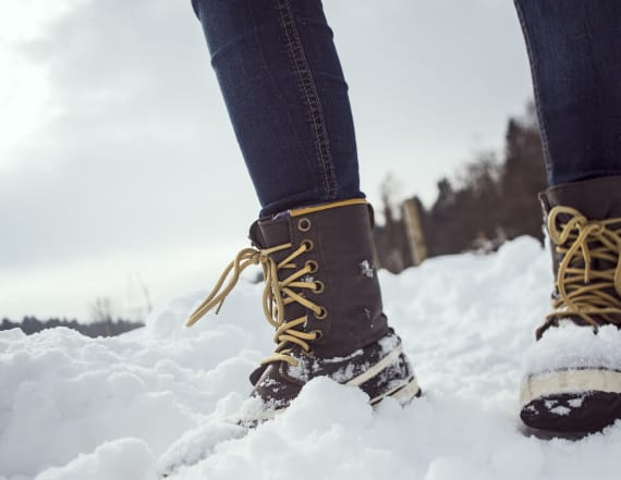 These winter boots are already on sale