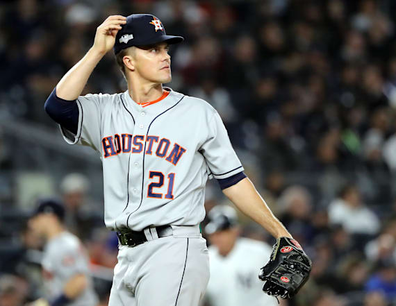 Report: Yankees fans taunt Greinke over anxiety