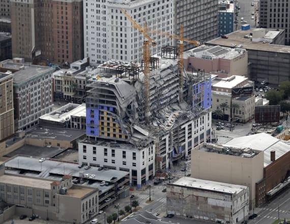 Unstable building, cranes hamper N.O. rescue attempt