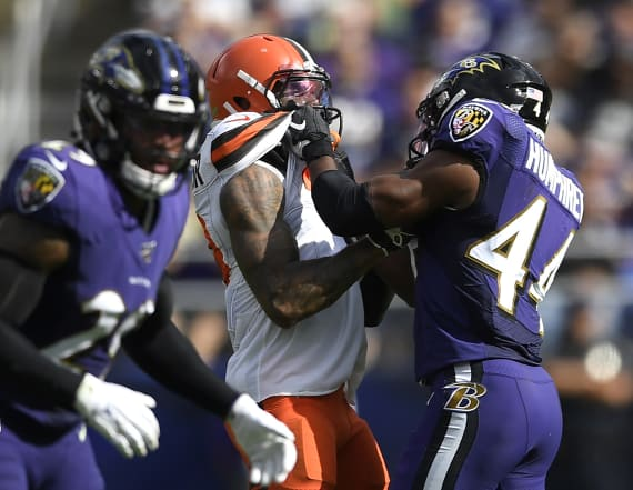 Ravens dispute Browns claim Odell Beckham was choked