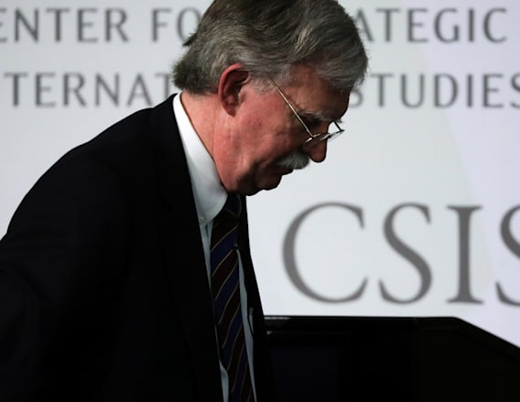 Bolton: Trump policies pegged to personal interest