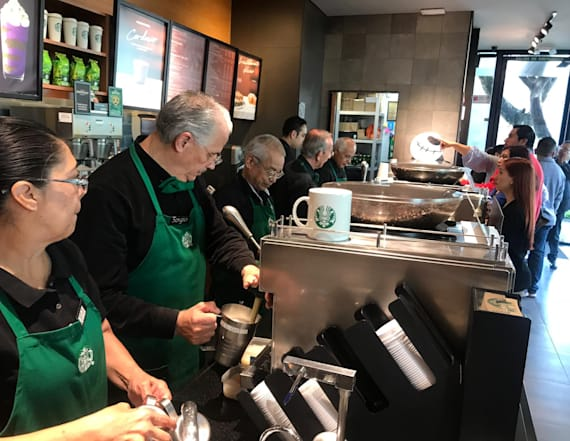 Starbucks is changing one rule for employees