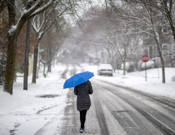 Wintry weather to smack Northeast