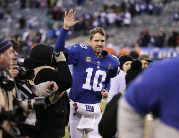 Eli Manning retires from the NFL after 16 seasons