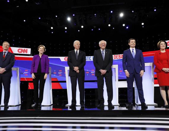 Biden, Sanders lead field in new poll