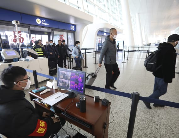 Major airlines are pulling flights to China