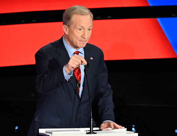 Steyer on Trump: 'I think he's obviously scared'