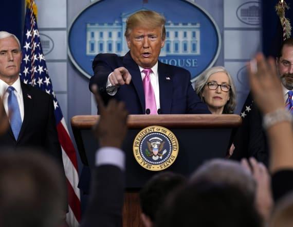 Trump says coronavirus risk to Americans 'very low'