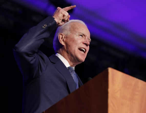 Biden says he'd 'disown' supporters making attacks