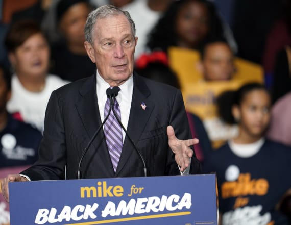Dems accuse Bloomberg of trying to 'buy' election