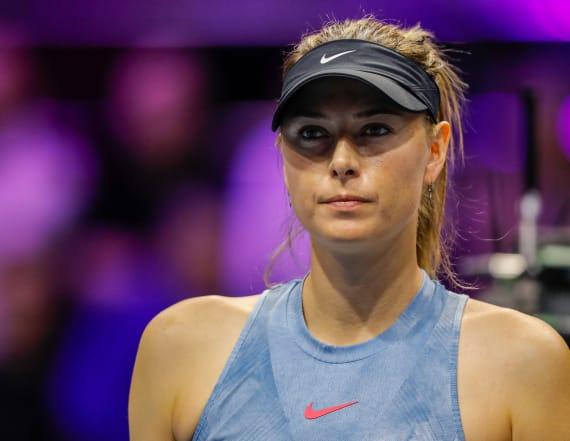 5-time major tennis champ Maria Sharapova retires