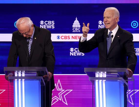 Sanders hit early and often at Democratic debate