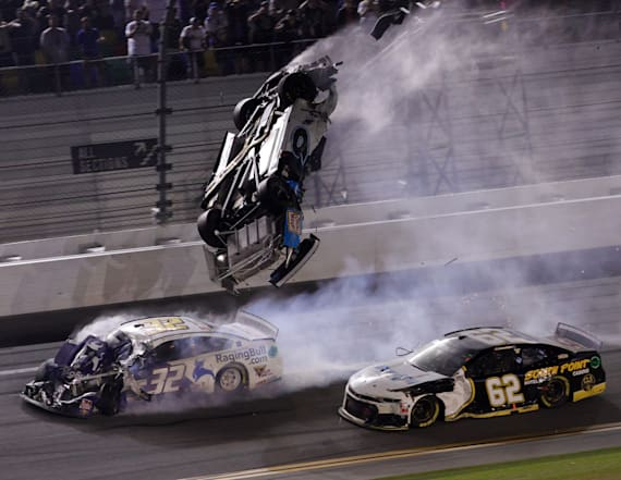 Newman suffered head injury in Daytona 500 crash