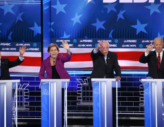 Democratic rivals pummel Bloomberg at Nevada debate