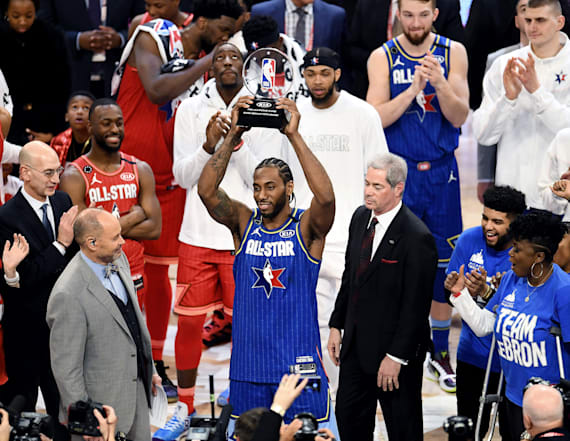 NBA experiment leads to thrilling All-Star finish