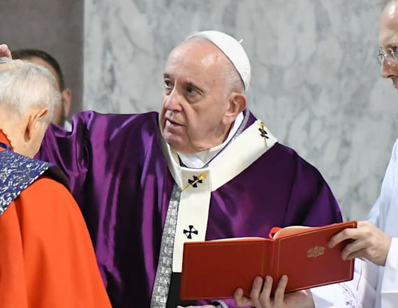 Pope cancels visit with priests for 'slight' illness