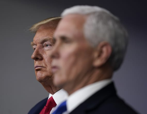 Anyone near Trump, Pence will get rapid virus test