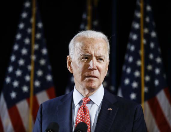 Joe Biden condemns death of George Floyd