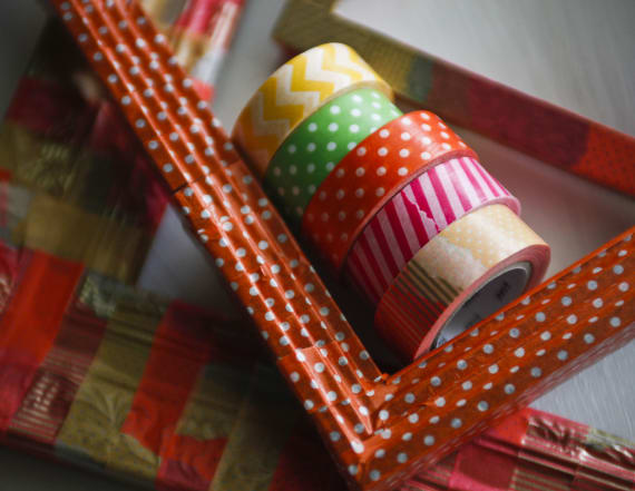 The easiest washi tape DIY projects to do at home