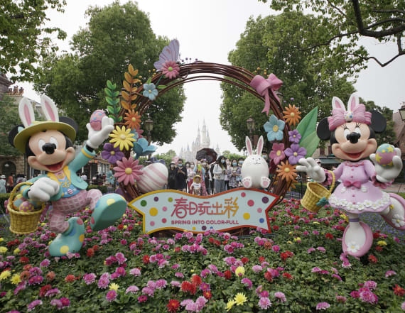 Disney imposes changes as it opens Shanghai park
