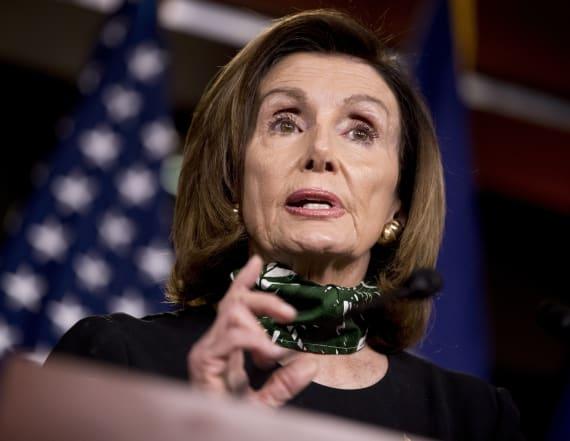 Pelosi blasts Trump over GOP convention