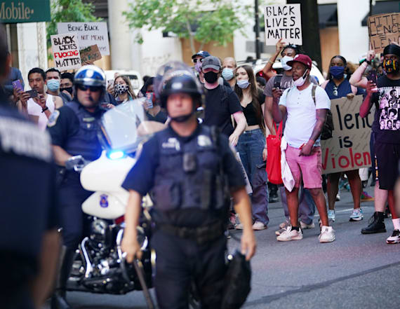 Fears of 'outside agitators' in Floyd protests