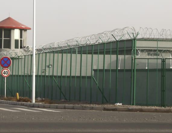 Secret video from inside Chinese detention center