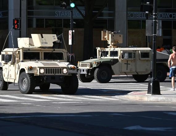 Trump's plan to deploy troops shocks generals
