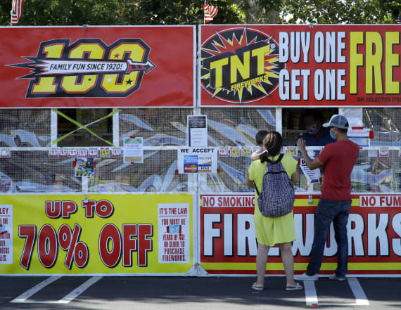 Canceled fireworks raises risk in Americans' hands