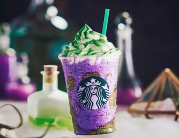 Starbucks' new witch's drink contains a superfood