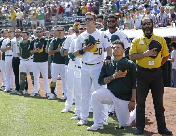 MLB player who took a knee is struggling to find job