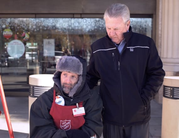 Holiday cheer with the Salvation Army's Todd Copper