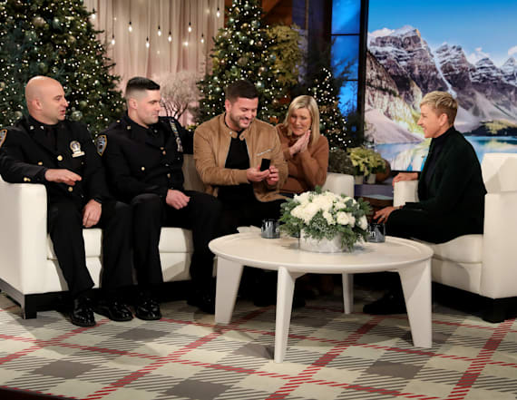 Ellen reunites couple with lost engagement ring