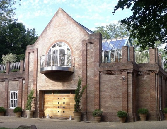 Five extravagant converted homes
