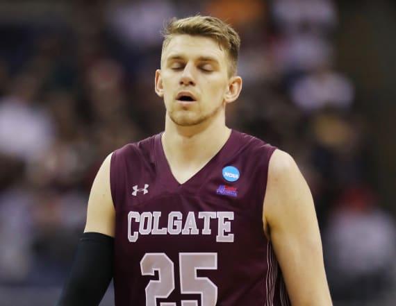 Did pinkeye cost Colgate a shot at major upset?