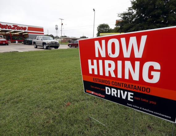 U.S. economy adds 263,000 jobs, unemployment drops