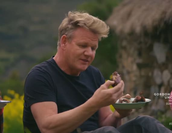 Viewers upset by meal on Gordon Ramsay's new show