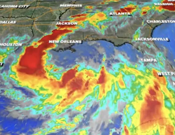 Hurricane warning: Tropical Storm Barry strengthens