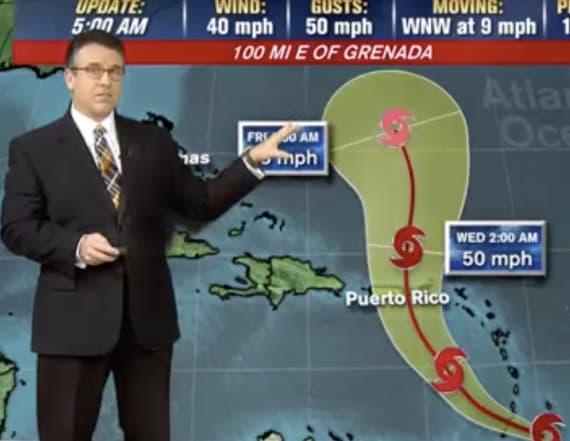 11th named storm of hurricane season developing