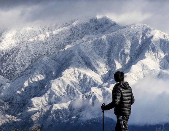Big storm blankets California mountains with snow