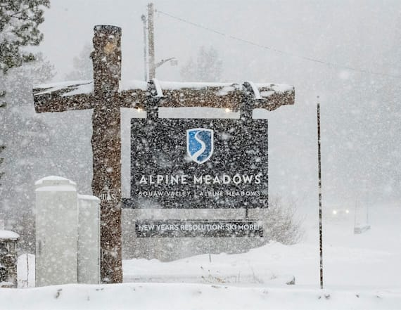Sheriff: 1 dead, 1 seriously hurt in Tahoe avalanche