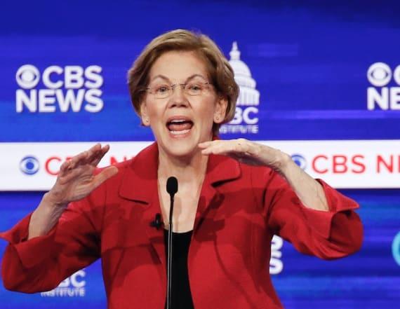 Warren targets Bloomberg at Dem debate