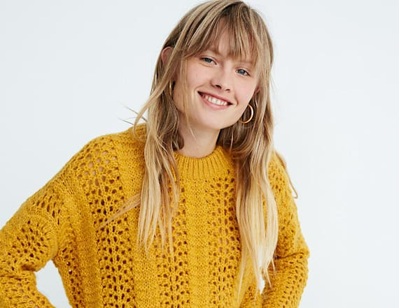 Snag these cozy sweaters from Madewell's sale