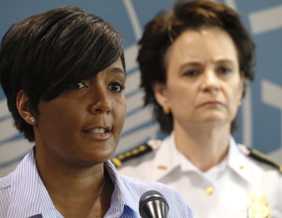 Atlanta mayor praised for response to unrest in city