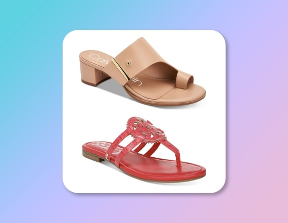 Macy's Black Friday in July sale is half off sandals