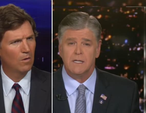 Hannity refutes Carlson's argument, later apologizes