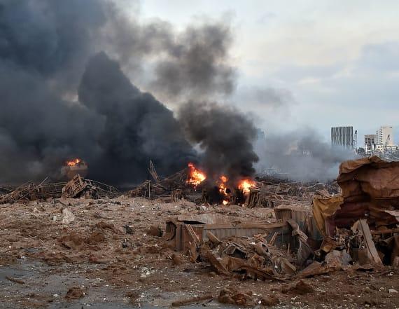 Huge explosion rocks Beirut, dozens of casualties