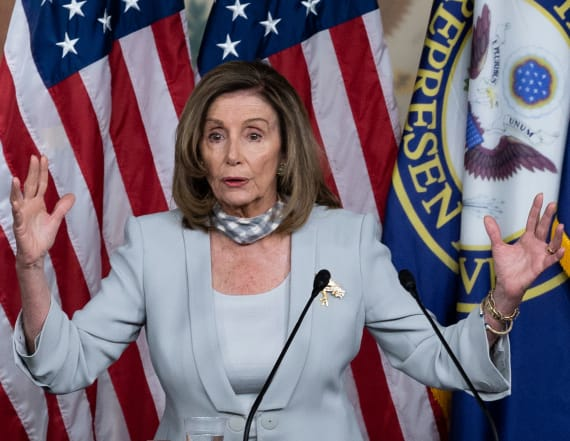 Pelosi calls Trump's opposition a 'contradiction'
